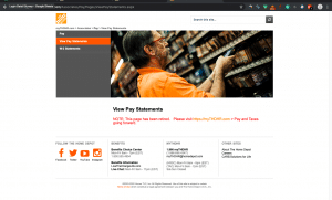 My Apron Login, How to get Pay Stubs from Home Depot?